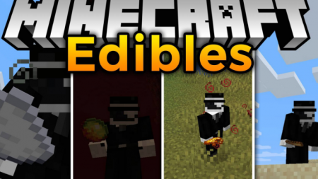 Скачать Edibles для Minecraft 1.16.2