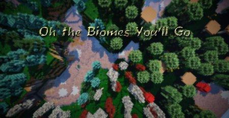 Скачать Oh The Biomes You'll Go для Minecraft 1.16