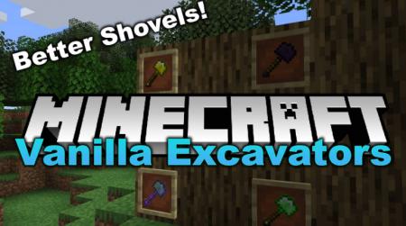Скачать Vanilla Excavators для Minecraft 1.16.3