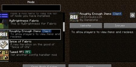 Скачать Mod Menu для Minecraft 1.16.3