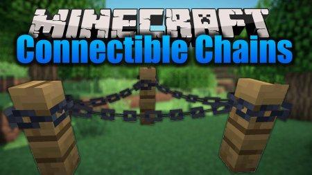 Скачать Connectible Chains для Minecraft 1.16.4