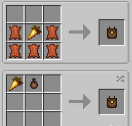 Скачать Food Pouches для Minecraft 1.16.4