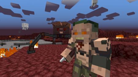 Скачать Doom Mod для Minecraft 1.16.3