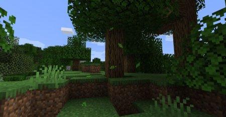Скачать Falling Leaves для Minecraft 1.16.4