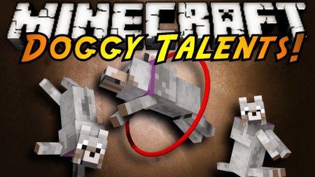 Скачать Doggy Talents для Minecraft 1.16.4