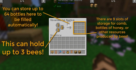 Скачать Productive Bees для Minecraft 1.15.2