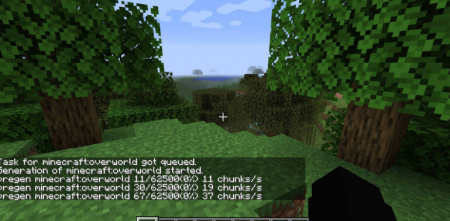 Скачать World Pre Generator для Minecraft 1.15.2