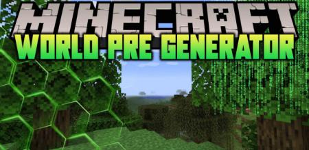 Скачать World Pre Generator для Minecraft 1.16.4