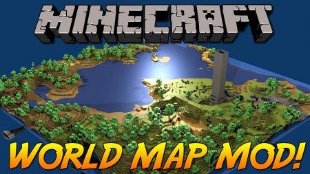 Скачать Xaero's World Map для Minecraft 1.16.4