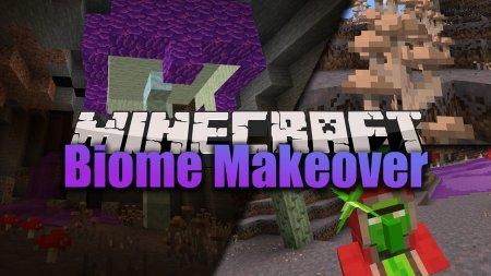 Скачать Biome Makeover для Minecraft 1.16.4