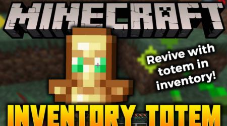 Скачать Inventory Totem для Minecraft 1.15.2