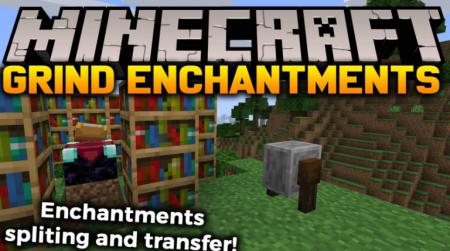Скачать Grind Enchantments для Minecraft 1.16.4