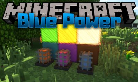 Скачать Blue Power для Minecraft 1.16.4