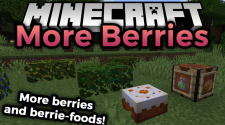 Скачать More Berries для Minecraft 1.16.4