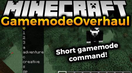 Скачать GamemodeOverhaul для Minecraft 1.16.4