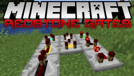 Скачать Redstone Gates для Minecraft 1.16.3
