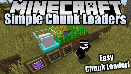 Скачать Simple Chunk Loaders для Minecraft 1.16.4