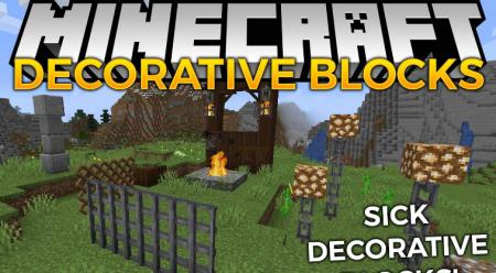 Скачать Decorative Blocks для Minecraft 1.14.2