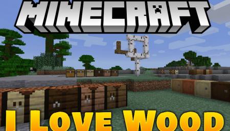 Скачать I Like Wood для Minecraft 1.16.4