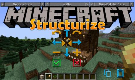 Скачать Structurize для Minecraft 1.12.2