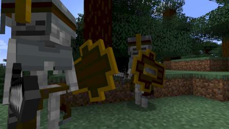 Скачать Dungeons Mobs для Minecraft 1.16.3