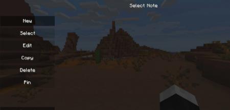 Скачать Notes для Minecraft 1.13.2