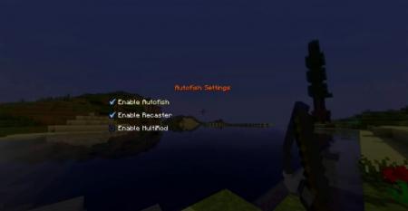 Скачать Autofish для Minecraft 1.16.4