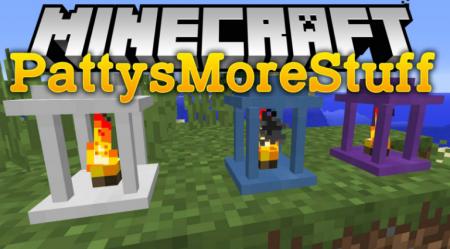 Скачать PattysMoreStuff для Minecraft 1.16.4