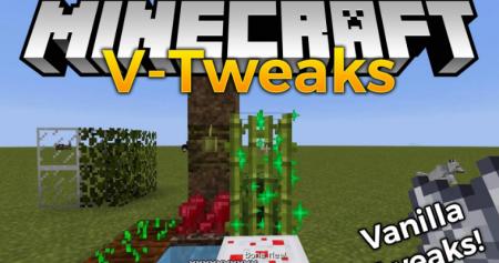 Скачать V-Tweaks для Minecraft 1.12.2