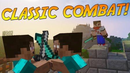 Скачать Classic Combat для Minecraft 1.16.4