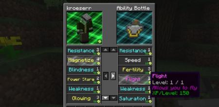 Скачать Everlasting Abilities для Minecraft 1.16.4