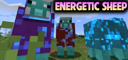 Скачать Energetic Sheep для Minecraft 1.16.3