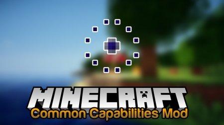 Скачать Common Capabilities для Minecraft 1.16.4