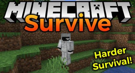 Скачать Survive Mod для Minecraft 1.16.4