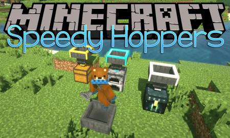 Скачать Speedy Hoppers для Minecraft 1.16.4