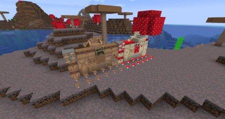 Скачать Enhanced Mushrooms для Minecraft 1.16.4