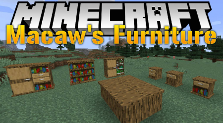 Скачать Macaw's Furniture для Minecraft 1.16.4