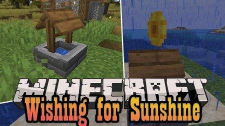 Скачать Wishing for Sunshine для Minecraft 1.16.3