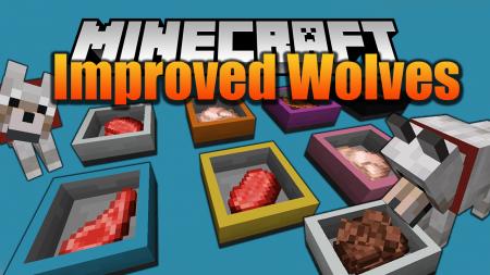Скачать Improved Wolves для Minecraft 1.15.2