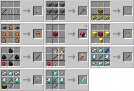 Скачать Deadguys Additional Featurse для Minecraft 1.12.2