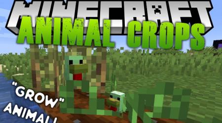 Скачать Animal Crops для Minecraft 1.15.2