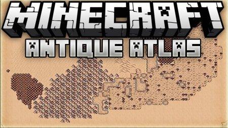Скачать Antique Atlas для Minecraft 1.16.4