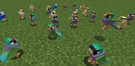Скачать Exotic Birds для Minecraft 1.15.2