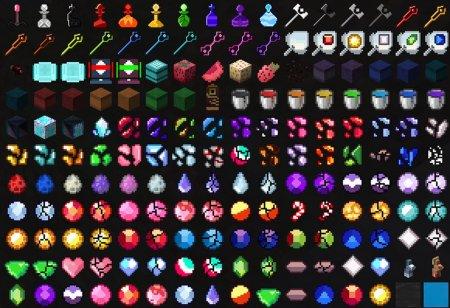 Скачать Crystal Universe для Minecraft 1.15.1