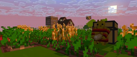 Скачать Straw Golem Reborn для Minecraft 1.16.4