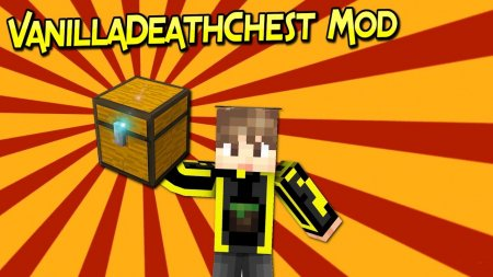 Скачать Vanilla Death Chest для Minecraft 1.15.2