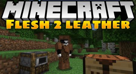 Скачать Flesh 2 Leather для Minecraft 1.16.2