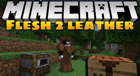 Скачать Flesh 2 Leather для Minecraft 1.16.4