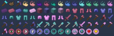Скачать Vanilla Plus: Powder Power для Minecraft 1.14.3