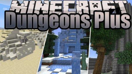 Скачать Dungeons Plus для Minecraft 1.16.4